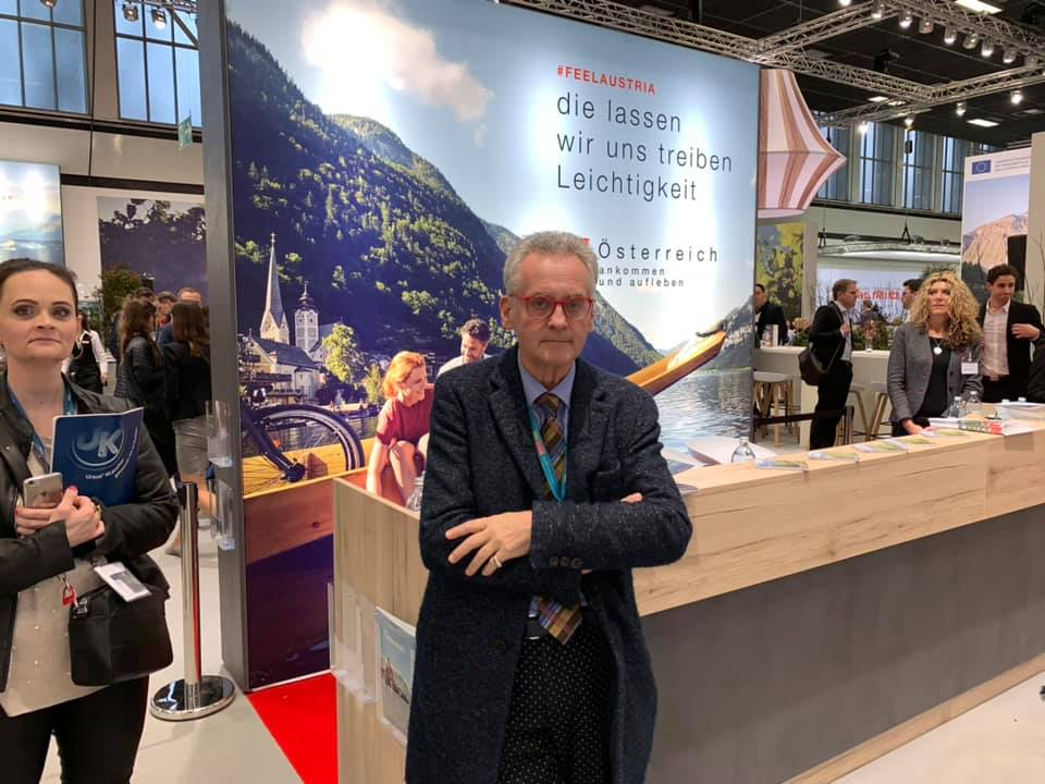 Christian Mucha auf der ITB 2019