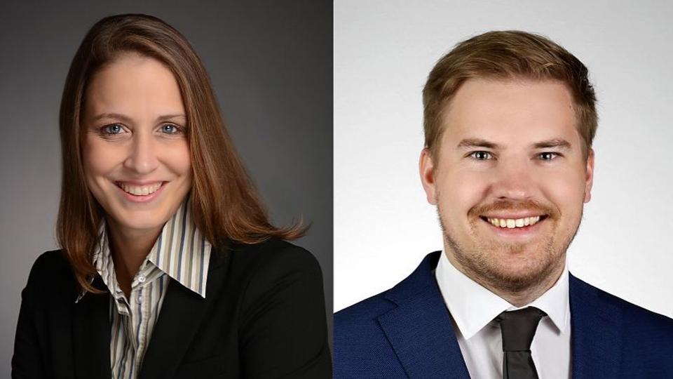 Anna von der Goltz und Bernhard Klieber