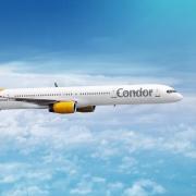 Eine Boeing 757-300 von Condor
