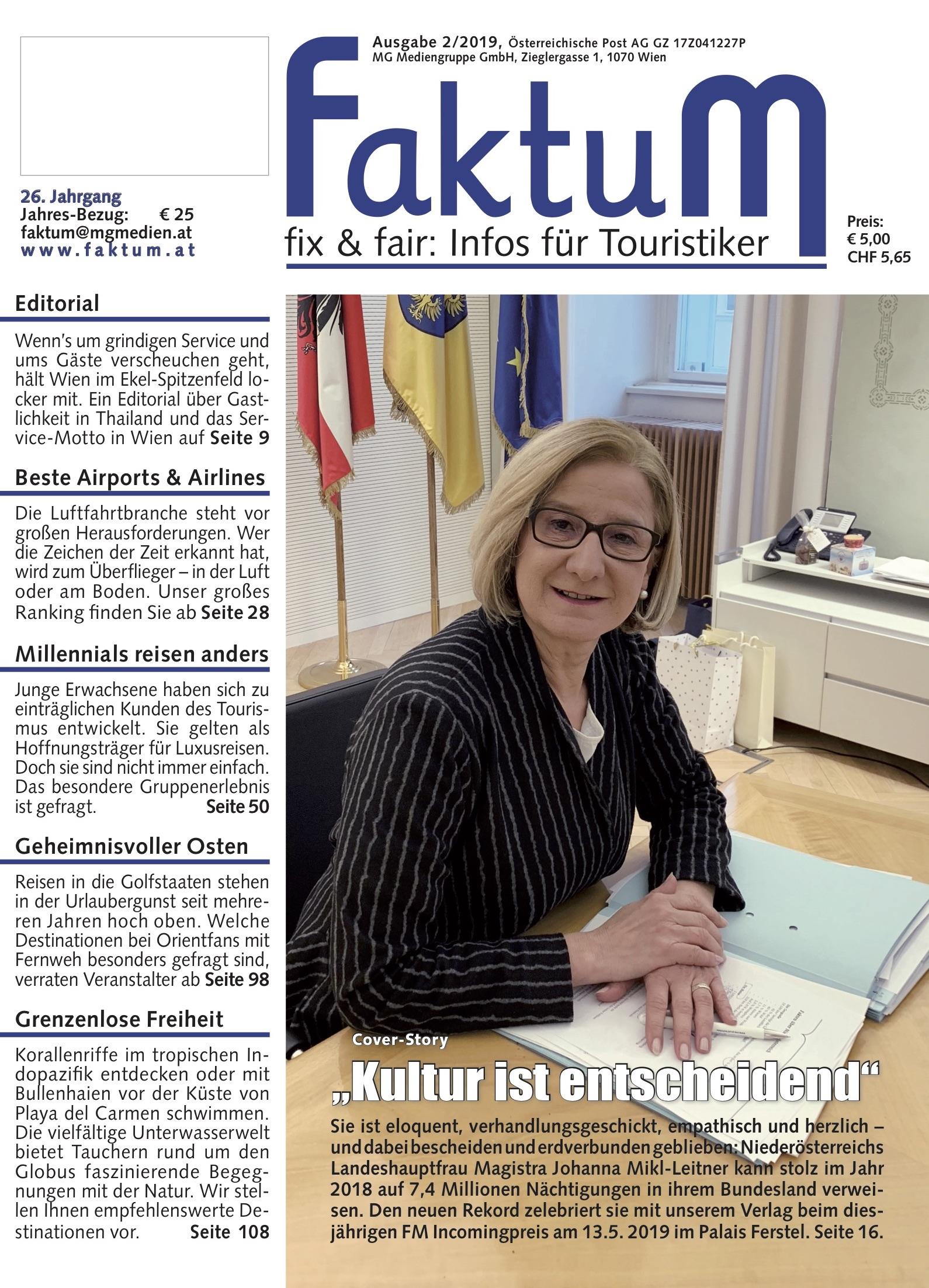 FaktuM 2/2019 Magazin Cover