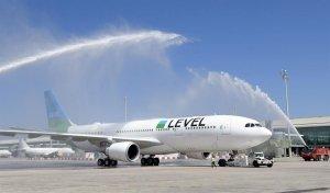 """Airline """"Level"""" Flugzeug"""