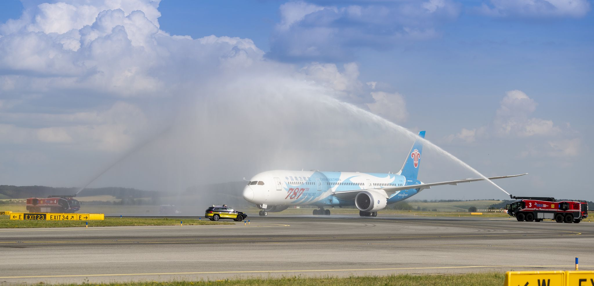 China Southern Airlines am Flughafen Wi