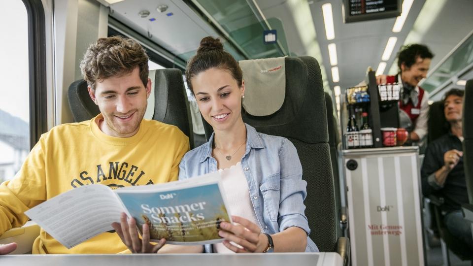ÖBB Zug Passagiere