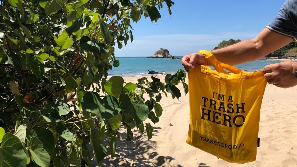 Kampf gegen Plastikmuell in Thailand