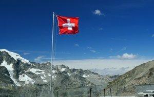 Schweiz Fahne