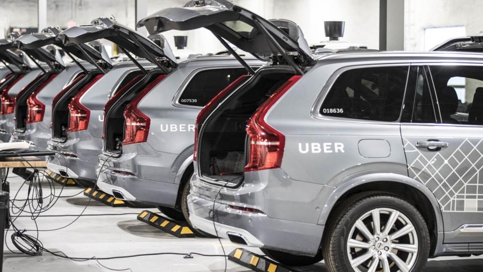 Uber-Mietwagen