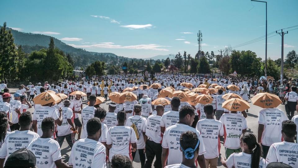 Zum Laufsport-Event nach Addis Abeba