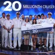 MSC Cruises begrüßt 20-millionsten Passagier