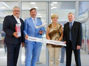 Neuer Terminal am Flughafen Budweis eröffnet