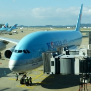 Airbus A380 der Korean Air