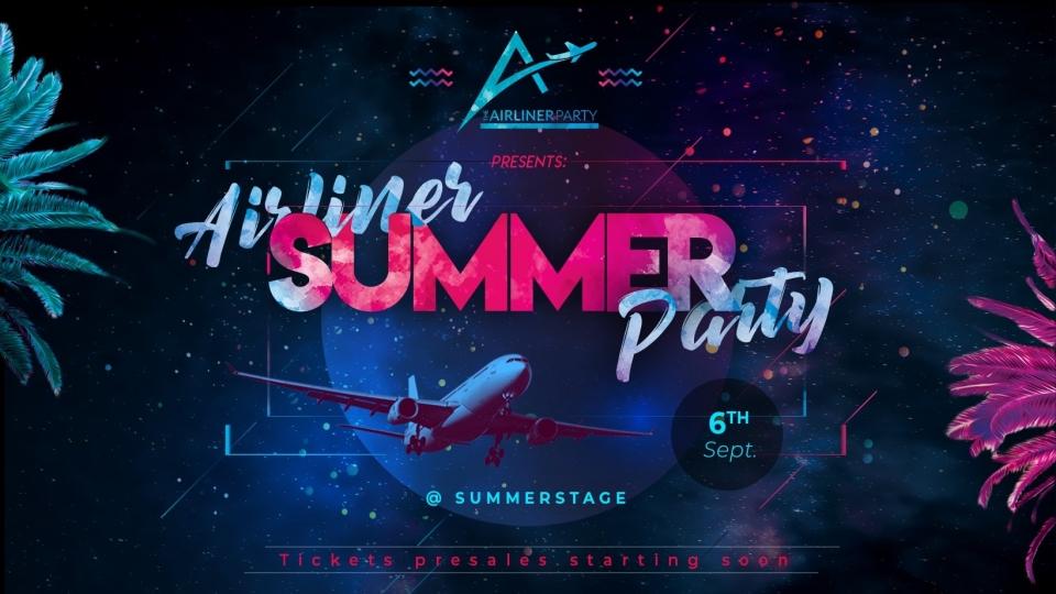 Airliner-Party auf Wiener Summer Stage