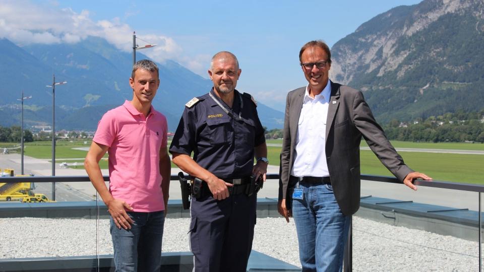 Polizeiinspektion Flughafen Innsbruck neubesetzt