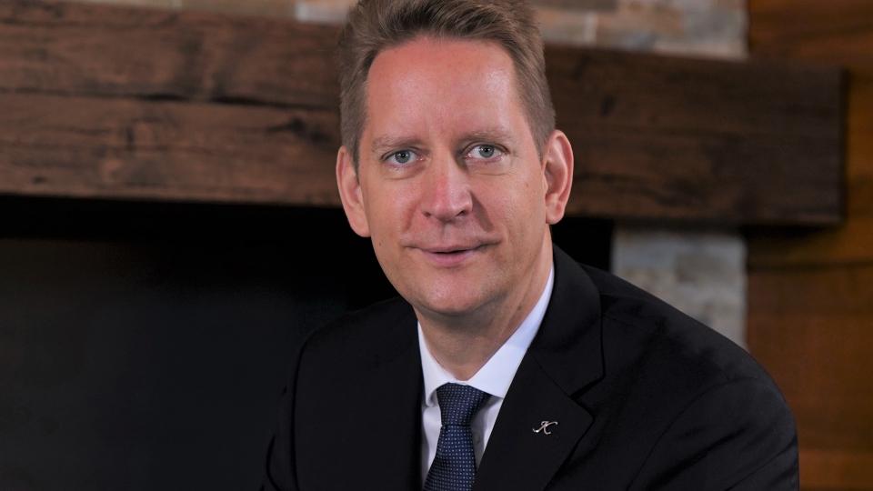 Christian Ruge übernimmt Kempinski Hotel Bansko