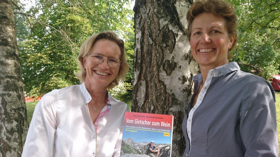 """Neuer Wanderführer """"Vom Gletscher zum Wein"""""""