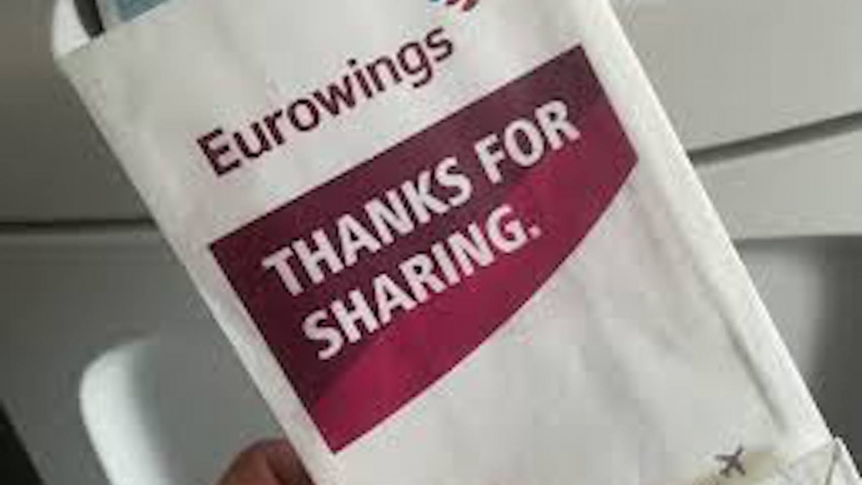 Sparmaßnahme: Eurowings reduziert Speibsackerln