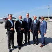Ausbaupläne für Flughafen Klagenfurt präsentiert