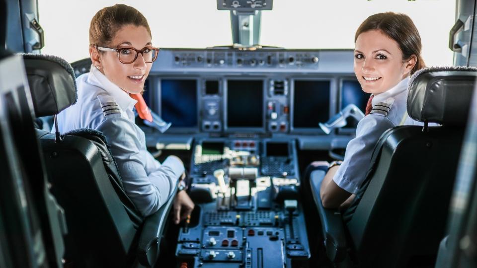 Pilotinnen der Austrian Airlines