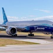 Langstreckenflugzeug 777-8, bitte warten