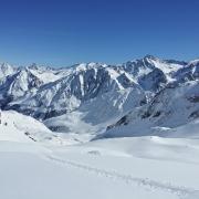 Gletscher-Skigebiete setzen auf Schneedepots