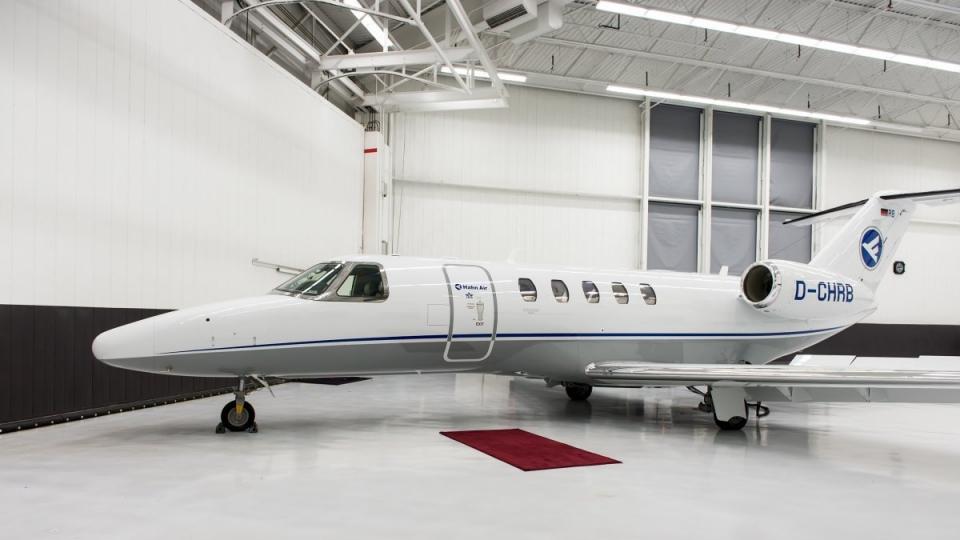 Charter-Flugzeug Cessna Citation CJ4 von Hahn Air
