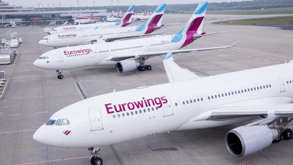 AUA übernimmt Eurowings-Flüge ab Wien