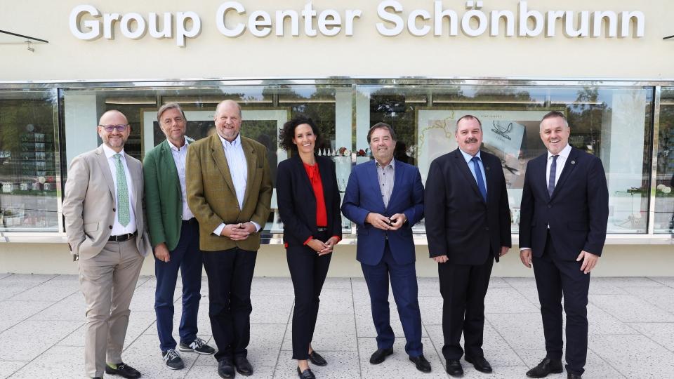 Schloss Schönbrunn eröffnet neues Arrival Center