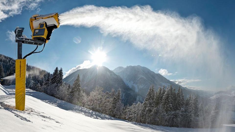 Chinesen arbeiten mit Südtiroler Schneeerzeuger