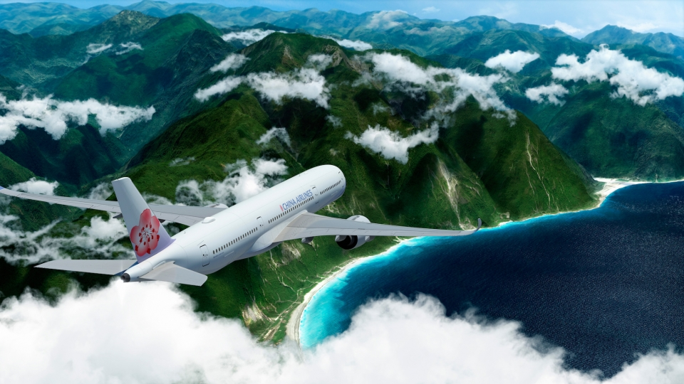 China Airlines feiert 60. Geburtstag