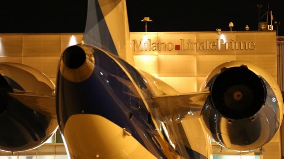 Mailänder Stadtflughafen Linate wieder geöffnet