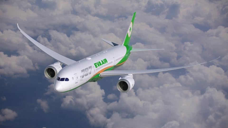 EVA-Air übernahm vierten Dreamliner