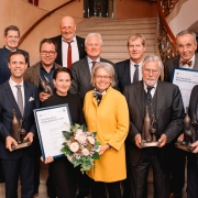 Gewinner und Laudatoren des NÖ Tourismuspreises 2019