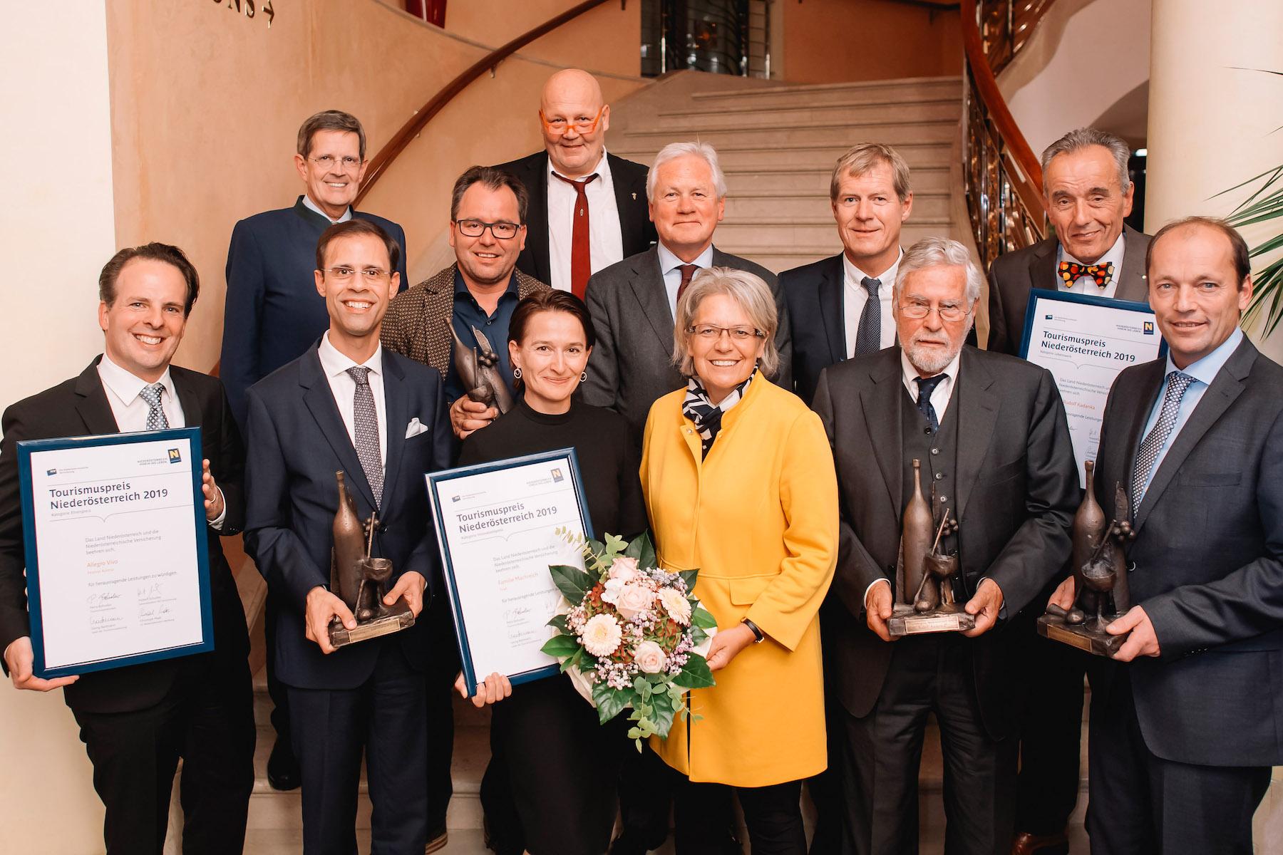 NÖ Tourismuspreise 2019 verliehen