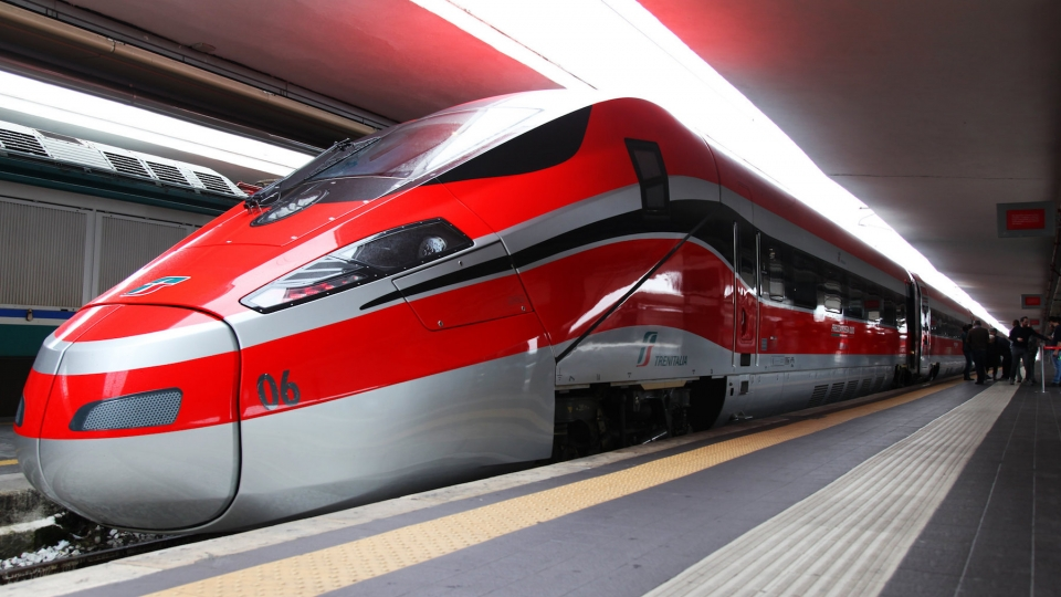 Bahnkooperation von Italien und Spanien