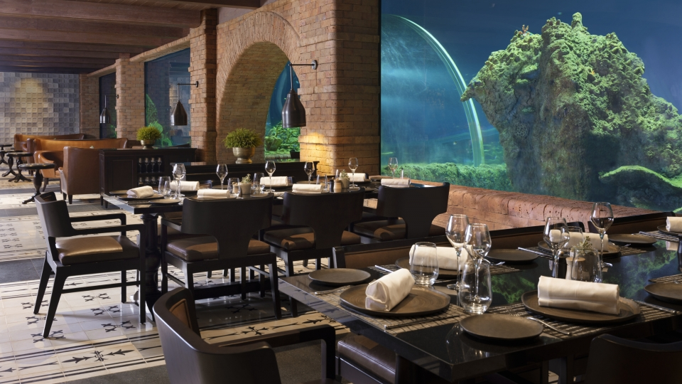 Erstes Aquarium-Restaurant auf Bali