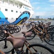 Schiff ahoi für Bambusbikes