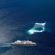 Antarktis mit totaler Sonnenfinsternis