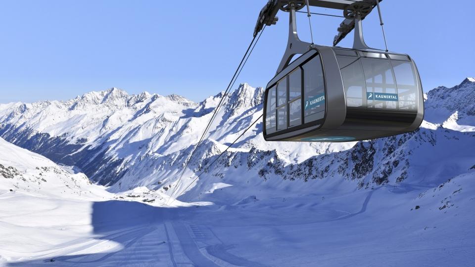 Tirol: Nachhaltige Gondel mit nur zwei Stützen