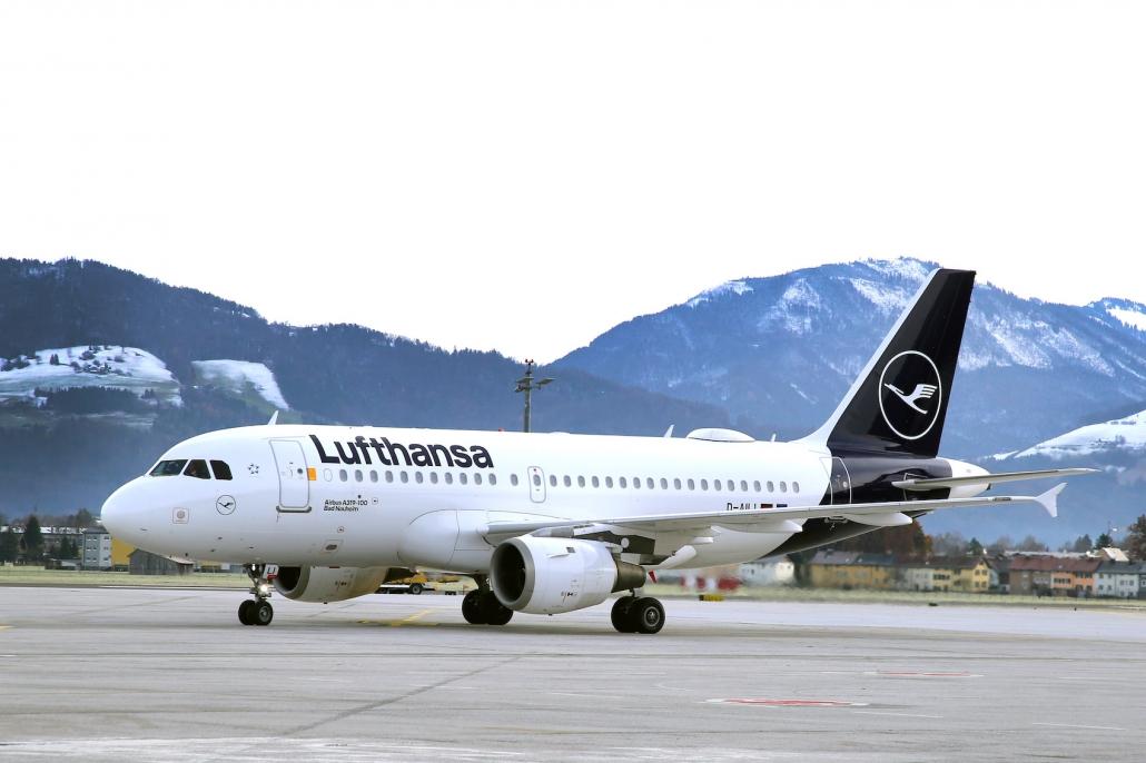 Abflug Lufthansa Frankfurt