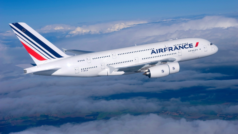 Air France fliegt mit Biokerosin ab