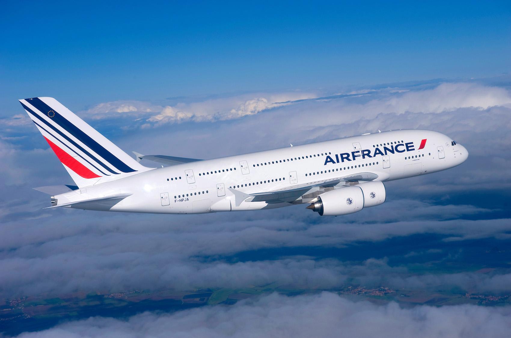 Air France fliegt mit Biokerosin ab