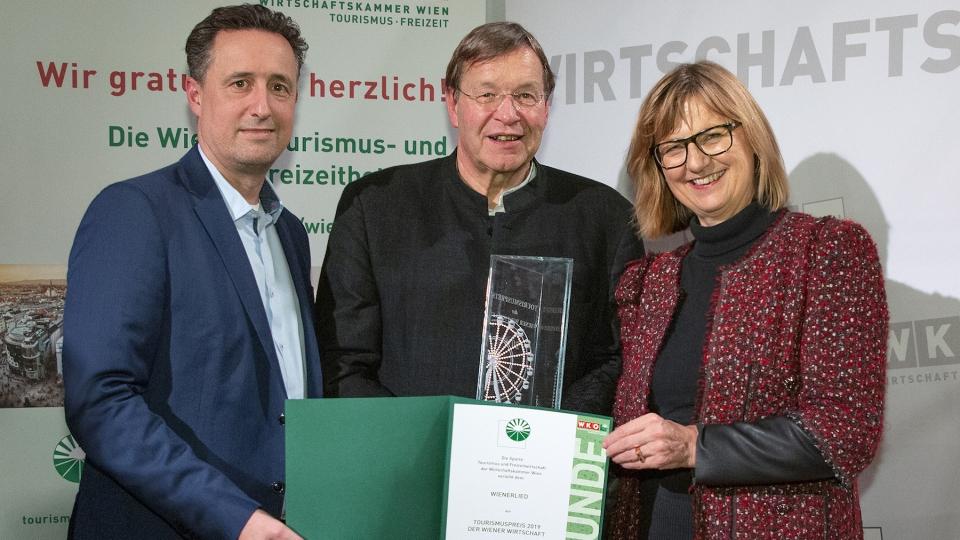 Wiener Tourismuspreis geht an das Wienerlied