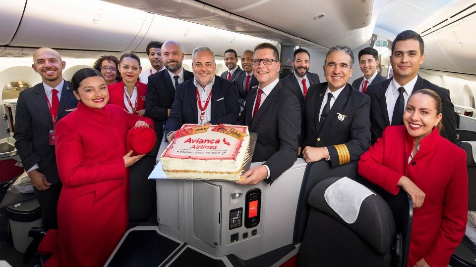 100 Jahre Avianca Airlines