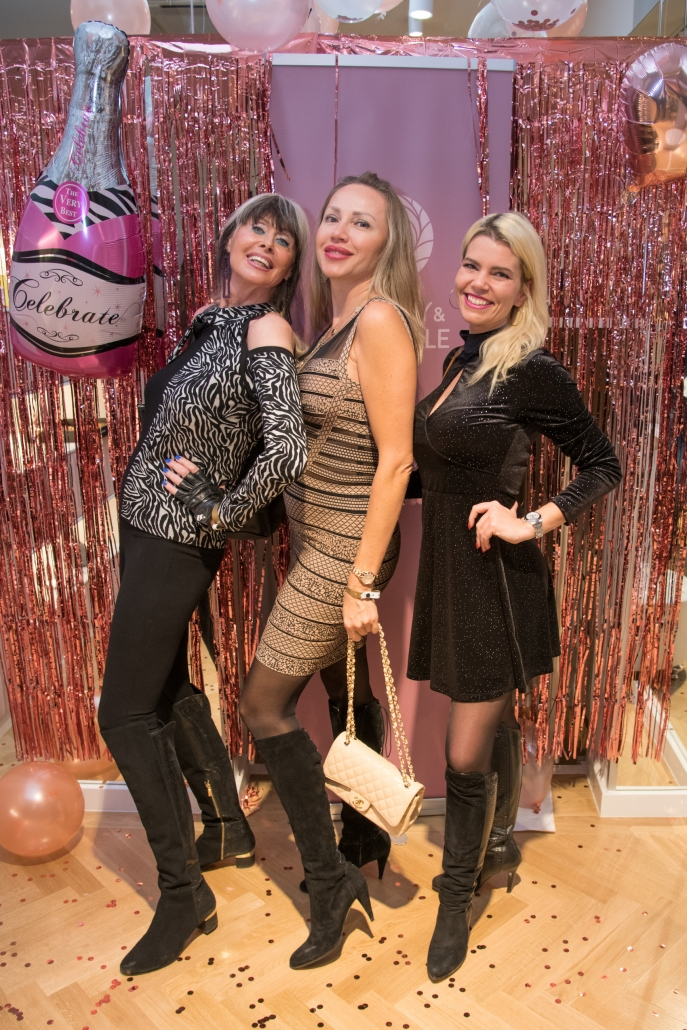 Promis beim Beauty&Lifestyle Spa Opening in Wien