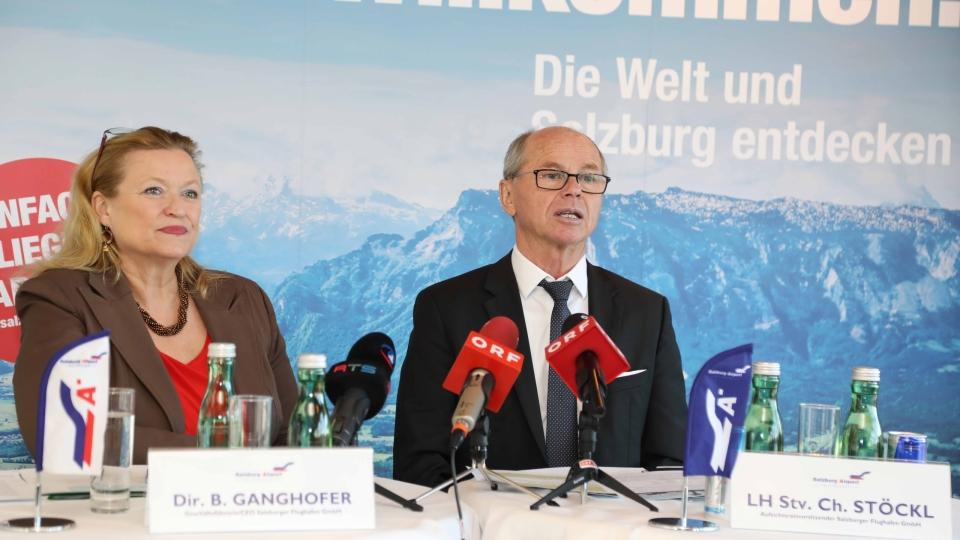 Ausblick auf Salzburger Sommerflugplan 2020