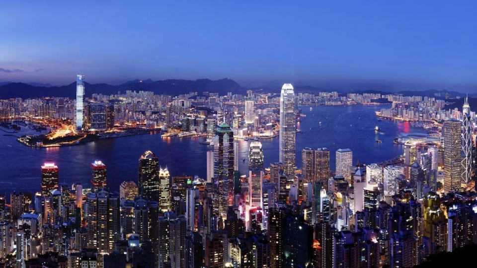 Hongkong in Feierstimmung