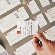 Flug Ticket