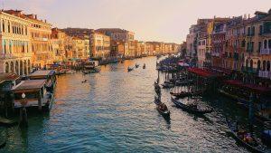 Der GRadn Canal in Venedig
